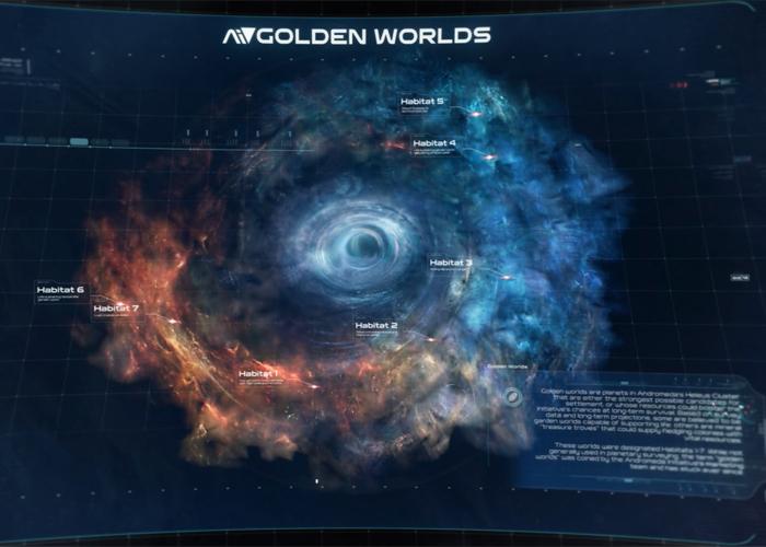 planetas andromeda
